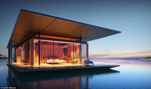 Mobile Floating House