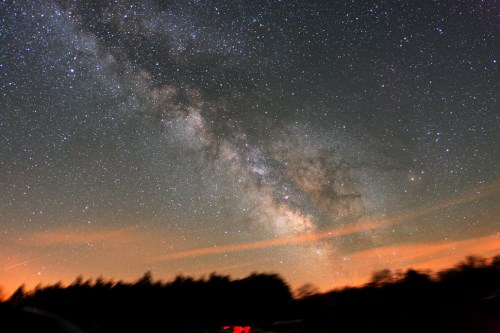 Under the Stars at Cherry Springs State Park, Pennsylvania