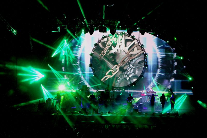 Brit Floyd performing at The Liverpool Echo Arena Nov 9th 2013