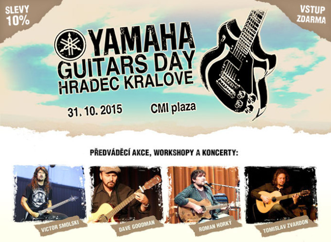 Yamaha Guitars Day