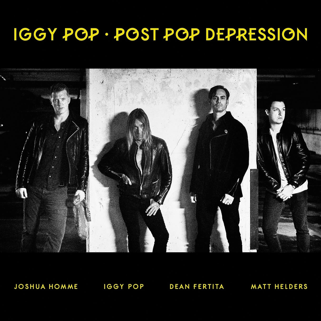 Iggy Pop - cover Post Pop Depression