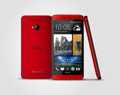 HTC ONE_red