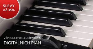 Slevy na digitální piana až 35%