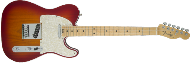 Elektrická kytara Fender American Elite Telecaster® MN ACB