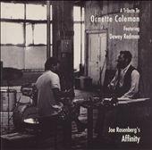 Joe Rosenberg's Affinity: A Tribute to Ornette