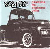 Pinstriping Dutchman's Coffina: Von Dutch Tribute
