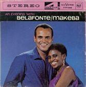Belafonte and Miriam Makeba