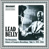 Leadbelly, Vol. 4: 1935-1938