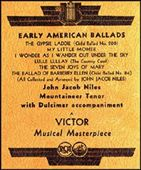 Early American Ballads
