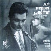 Art Pepper Quartet: Volume 1