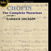 Chopin: The Complete Mazurkas, Vol. 1