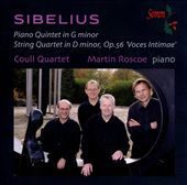 Sibelius: Piano Quintet in G minor, String Quartet in D minor, Op. 56