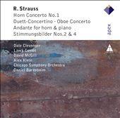 R. Strauss: Horn Concerto No. 1, Duett-Concertino, Oboe Concerto, Etc.