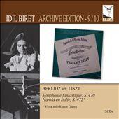 Berlioz arr. Liszt: Symphonie Fantastique, Harold en Italie