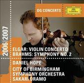 Elgar: Violin Concerto in B minor, Brahms: Symphony No. 2, Wagner: Overture Tannhauser