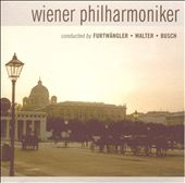 Wiener Philharmoniker Conducted by Furtwängler, Walter, Busch