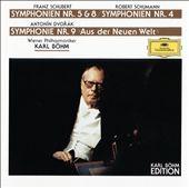 Schubert: Symphonies Nos. 5 & 8, Dvořák: Symphony No. 9, Schumann: Symphony No. 4