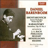 Daniel Barenboim: The Early Recordings
