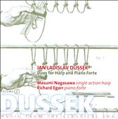 Jan Ladislav Dussek: Duos for Harp and Piano, Vol. 2
