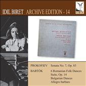 Idil Biret Archive Edition, Vol. 14: Prokofiev & Bartók