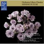 Wolfgang Amadeus Mozart: Symphony No. 29 K. 201, Joseph Haydn: Symphony No. 88 Hob. I-88, Ludwig van Beethoven: Symphony No. 1 Op. 21