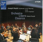 "Joseph Haydn: Symphonies Nos. 44 ""Mourning"", 46, 53 ""L'Impériale"""