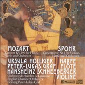 Mozart: Double Concerto for Flute, Harp & Orchestra, Spohr: Concertante No. 1 for Violin, Harp & Orchestra